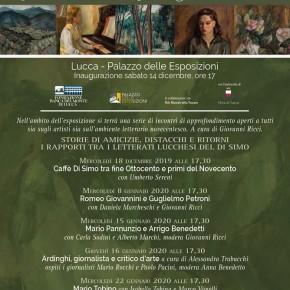 """Lucca mercoledì 22 gennaio. Incontro al palazzo delle esposizioni """"Mario Tobino""""."""