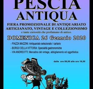 Domenica 26 gennaio 2020. Pescia Antiqua