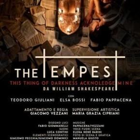 """Pescia Teatro Pacini.  Venerdì 24 Gennaio """"La Tempesta""""."""