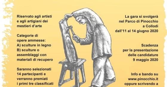Fondazione Collodi, al via il bando  per il Pinocchio più bello del mondo     Selezioni aperte per la prima edizione per il concorso internazionale  Master Geppetto 2020 che si rivolge ad artisti e artigiani dell'arte.