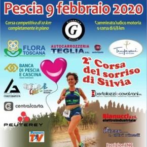 Domenica 9 febbraio. 2° Corsa del sorriso di Silvia Corsa e camminata