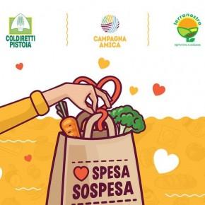 DOMANI 4 APRILE, il cibo donato, frutto della generosità dei pistoiesi,  sarà consegnato alla Caritas a fine mercato