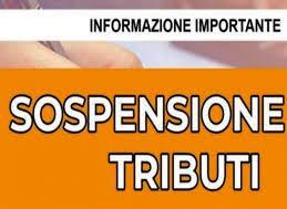 Delibera Consiliare sospensione termini versamento tributi ed extra tributi