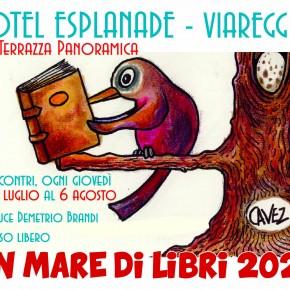 Primo appuntamento con UN MARE DI LIBRI all'Hotel Esplanade di Viareggio