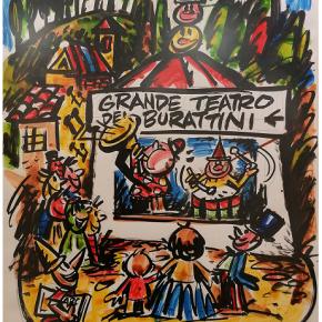 Collodi: Vinicio Berti, litografie e scritti su Pinocchio  In mostra le opere dello straordinario artista toscano