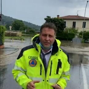 """Pescia, partiti i lavori di somma urgenza per i danni della bomba d'acqua del 17 giugno. Giurlani """" Tante opere per 268mila euro di spesa che verranno coperte dalla regione Toscana"""""""
