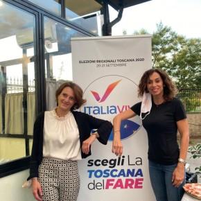 La candidata Italia Viva a Pistoia ha incontrato ieri la ministra Bonetti a Monsummano  Lisa Innocenti: «il Family Act grande risultato di Italia Viva e avrà un forte impatto a Pistoia dove la disoccupazione giovanile è alta»