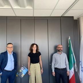 La candidata di Italia Viva Pistoia ha incontrato i vertici di Confcommercio PT-PO