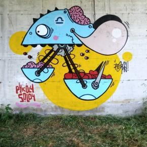 Domenica 13 settembre. La Street Art in Piazza del Grano a Pescia