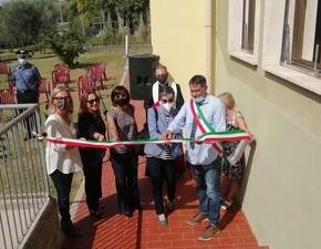 Inaugurata la ristrutturata scuola materna di Cardino Investimento da duecentoottantaseimila euro, forte contributo regionale
