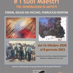 Prosegue con grande successo all' Hotel Esplanade, in piazza Puccini a Viareggio,  la mostra FERON E I SUOI MAESTRI  - Tre generazioni di artisti (Feron, Giulio Da Vicchio, Ferruccio Rontini).