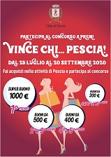 Pescia Palagio domenica 18 ottobre Premiazione concorso 'Vince...chi Pescia!'