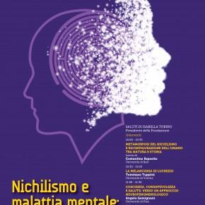 """Fondazione Mario Tobino venerdì 30 ottobre convegno """"Nichilismo e malattia mentale: prospettive a confronto"""""""