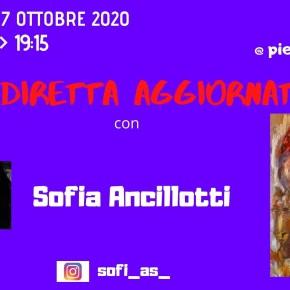 """L'ATTIVITA' ARTISTICA DI SOFIA ANCILLOTTI A """"LA DIRETTA AGGIORNATA"""""""