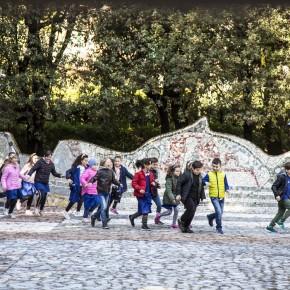 """Collodi, realtà aumentata nella Piazzetta dei Mosaici.  Nuove Tecnologie per valorizzare patrimonio culturale  """"V.E.R.O"""" è il progetto del CNR di Pisa  con la Fondazione Nazionale C. Collodi finanziato da Regione Toscana"""