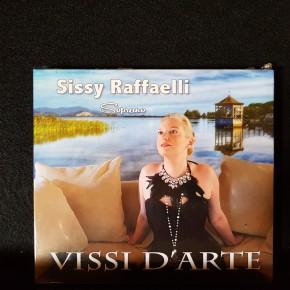 """Disponibile da oggi il cd pucciniano """" Vissi d'arte"""" del soprano Sissy Raffaelli"""