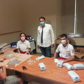 Pescia, novità per la distribuzione delle mascherine.           Dispositivi solo per i residenti e divisi per zone a partire da lunedì 23