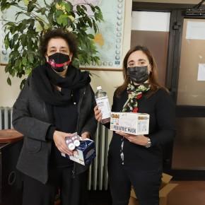 Pescia, arrivano altre 100mila mascherine per i cittadini           L'associazione Alice Benvenuti Onlus dona dispositivi pediatrici, dopo quelli arrivati dalla onlus Anna Maria Marino
