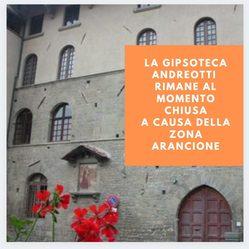 La Gipsoteca Andreotti chiusa al pubblico  Per inserimento della Toscana in Zona Arancione