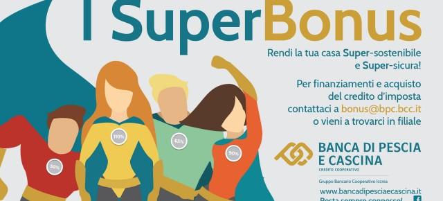 Superbonus di Banca di Pescia e Cascina. Cedere il credito conviene