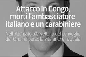 """Attentato in Congo, il cordoglio del consiglio comunale di Pescia Il presidente Brizzi: """"Ci stringiamo attorno alle famiglie delle vittime"""""""