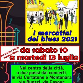 TORNA IL MERCATINO DEL BLUES NELLE STRADE DEL CENTRO DI PISTOIA