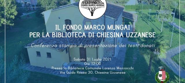 Chiesina Uzzanese . Importante donazione di libri alla biblioteca di Chiesina Uzzanese.
