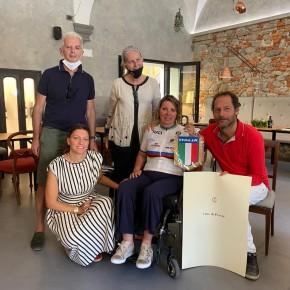 Il comune di Pescia porta bene a Simona Canipari, supercampionessa di handbike