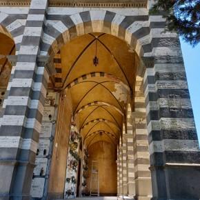 """In conclusione i lavori al primo lotto del cimitero monumentale di Pescia     Morelli """" Un recupero serio e di qualità, i lavori continueranno"""""""