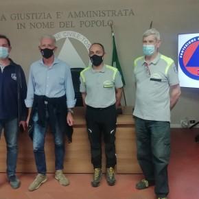 """La Protezione Civile di Pescia ha bisogno di nuovi mezzi e chiede aiuto al territorio """"Chi può, ci dia una mano""""."""