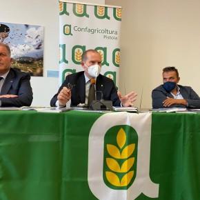 Le risposte del presidente di Confagricoltura alle esigenze dei soci della provincia di Pistoia    Giansanti: «con Green Deal e Pnrr agricoltura e vivaismo pistoiesi sempre più protagonisti»