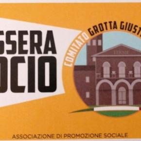 Comitato Grotta Giusti - Centro.  Campagna d'iscrizione