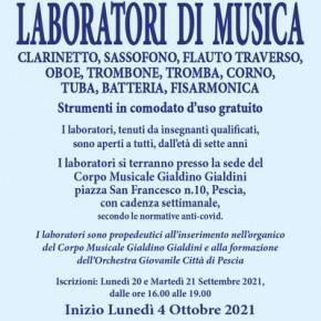 Pescia. Laboratori di musica
