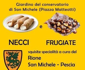 Festa della castagna rione san Michele   Domenica 24 e 31 ottobre 2021