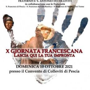 Convento di Colleviti domenica 10 ottobre X Giornata Francescana