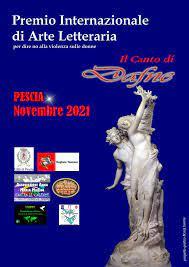 """A fine novembre il Premio Internazione di Arte Letteraria """"Il Canto di Dafne"""" sul tema della violenza di genere."""